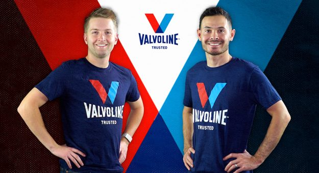William Byron and Kyle Larson will each have sponsorship from Valvoline for the next two season.