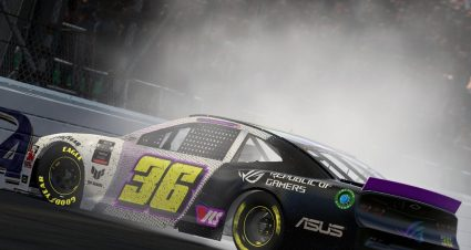 Shearburn Rolls To Dominant Kansas eNASCAR Win