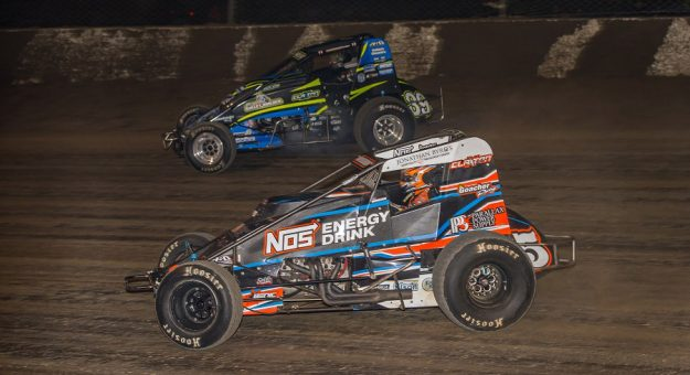 The upcoming #LetsRaceTwo USAC AMSOIL National Sprint Car Series races at Eldora Speedway will each pay $10,000 to the winner. (Dallas Breeze photo)