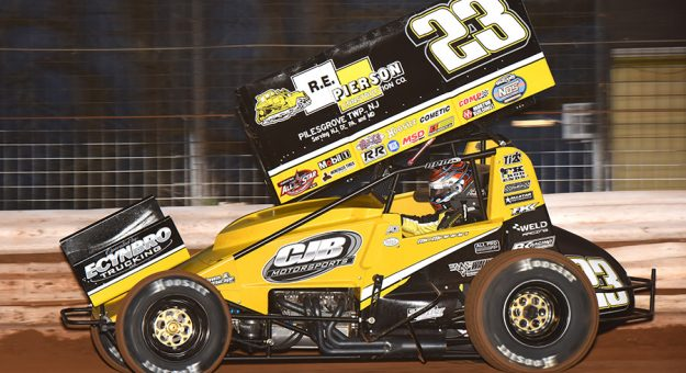 Paul McMahan will move to CJB Motorsports' No. 5 car for the remainder of the All Star Circuit of Champions season. (Paul Arch Photo)