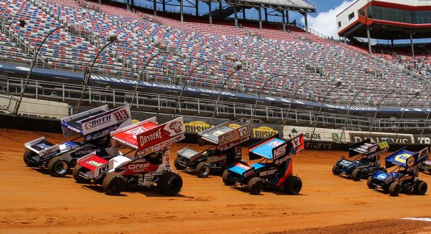 A lot goes into putting on a successful World of Outlaws event. (Wayne Riegle photo)