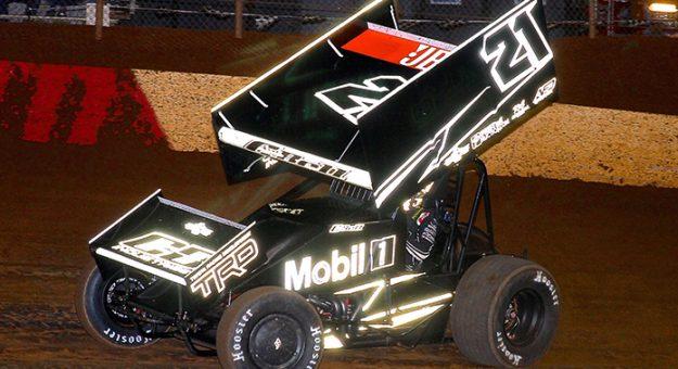Christopher Bell's familiar No. 21 sprint car has been shuttered. (Dan Demarco photo)