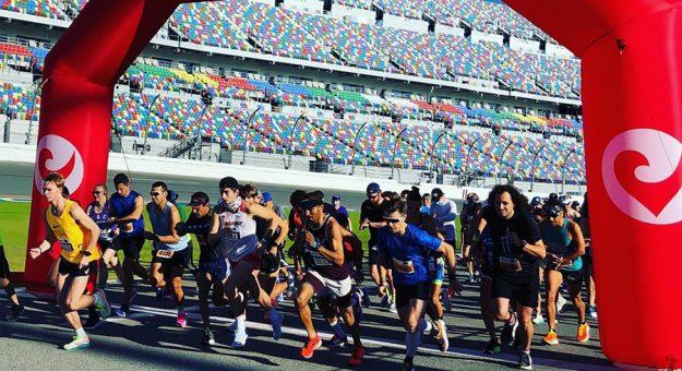 Challenge Family utilized Daytona Int'l Speedway for its triathlon festival race series.