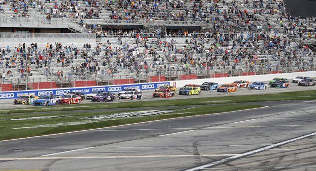 Atlanta Motor Speedway will open its grandstands to full capacity in July. (HHP/Harold Hinson)
