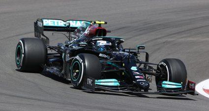 Bottas & Hamilton Split Portuguese Practices