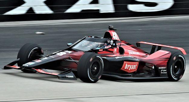 Tony Kanaan was fastest during NTT IndyCar Series practice Saturday at Texas Motor Speedway. (Al Steinberg Photo)