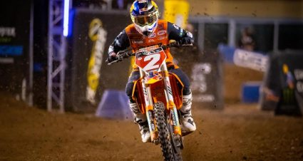 Cooper Webb Finishes In Winning Fashion