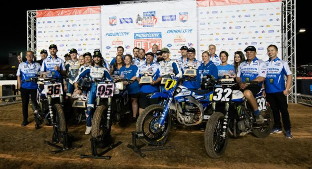 Yamaha riders Dallas Daniels and J.D. Beach delivered three victories for the brand during the Yamaha Atlanta Super TT on Saturday night.