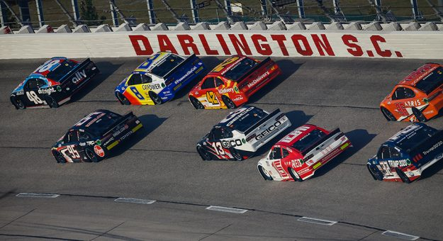 The dignitaries for the official throwback weekend at Darlington Raceway have been revealed. (HHP/Chris Owens Photo)