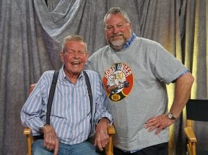 Bobby Unser (left) helped SPEED SPORT contributor Bruce Martin find his love for motorsports. The two later formed a lengthy friendship. (Bruce Martin Collection)