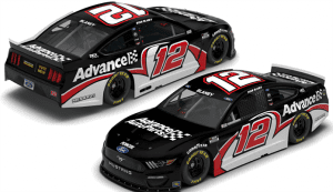Ryan Blaney's No. 12 entry will sport a scheme similar to one from his time racing late models this weekend at Darlington Raceway.