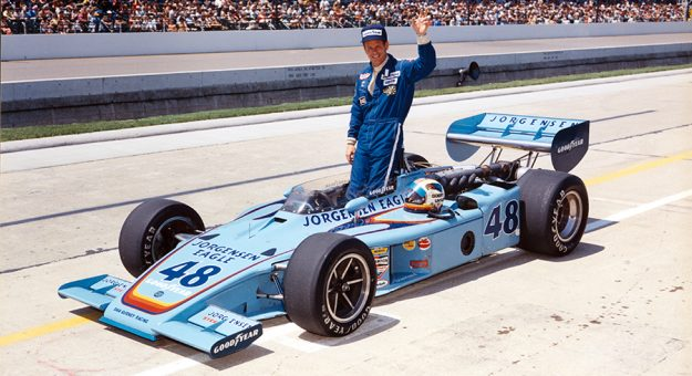 Bobby Unser won the Indianapolis 500 three times during his legendary career. (IMS Archives Photo)