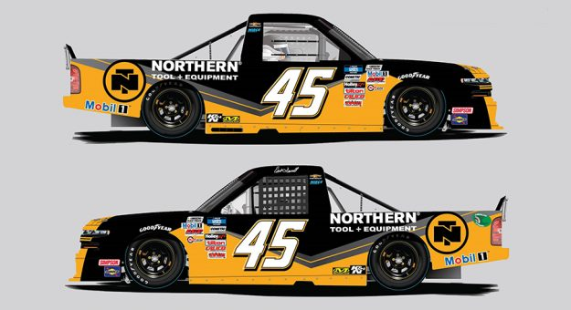 Erik Darnell will return to the NASCAR Camping World Truck Series this weekend at Darlington Raceway for Niece Motorsports.