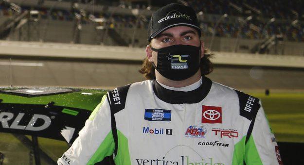 #51: Parker Chase, Kyle Busch Motorsports, Toyota Tundra Vertical Bridge