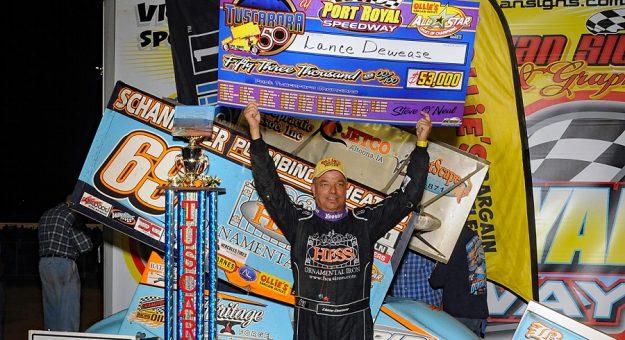 Lance Dewease Win Check All Stars Port Royal 091220