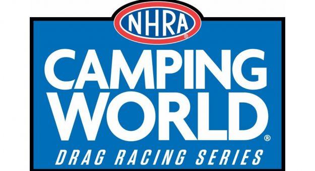New NHRA Camping World Drag Racing Series Logo
