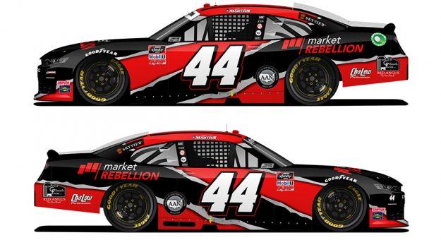 Market Rebellion has expanded its sponsorship support of Martins Motorsports.