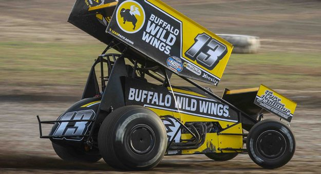 Mark Dobmeier has not been cleared by doctors to return to racing. (Speedway Shots Photo)