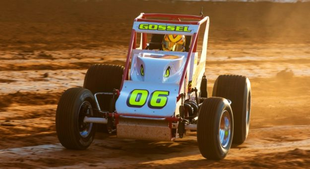 2020 USAC Silver Crown Rookie of the Year Bryan Gossel.