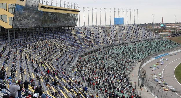 Kansas Speedway is one of three NASCAR venues that will completely open its grandstands to fans later this year. (NASCAR Photo)