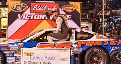 Riggs Aces CARS Tour Test For Sixth Career Win