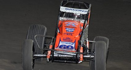 Bacon Ties Jones With 39th USAC Sprint Fast Time