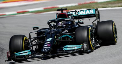 Lewis Hamilton Earns 100th F-1 Pole