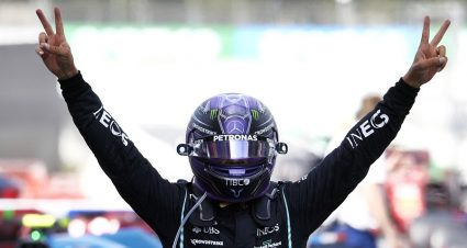 Strategy Propels Hamilton To Victory In Spain