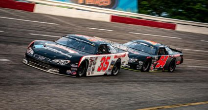 Kvapil Dominates North/South Super Late Model Challenge