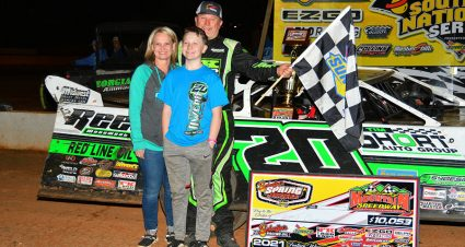 Owens Cashes $10,053 Spring Nationals Check