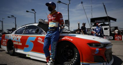 Larson 'Maybe Too Patient' In Darlington Runner-Up