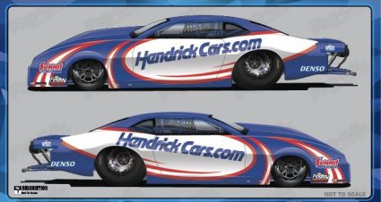 Anderson To Fly HendrickCars.com Colors At zMAX