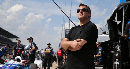 Stewart To Join Foyt On Pit Box For Indianapolis 500