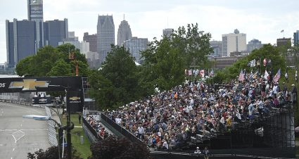 Limited Fans Allowed For Chevrolet Detroit Grand Prix