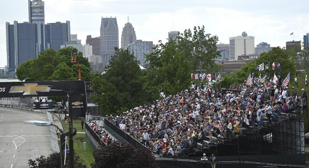 A limited capacity crowd will be allowed during the Chevrolet Detroit Grand Prix. (IndyCar Photo)