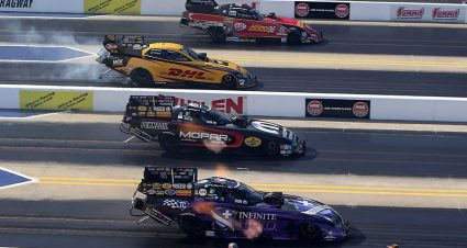 Four-Wide Racing Returns To zMAX Dragway This Weekend