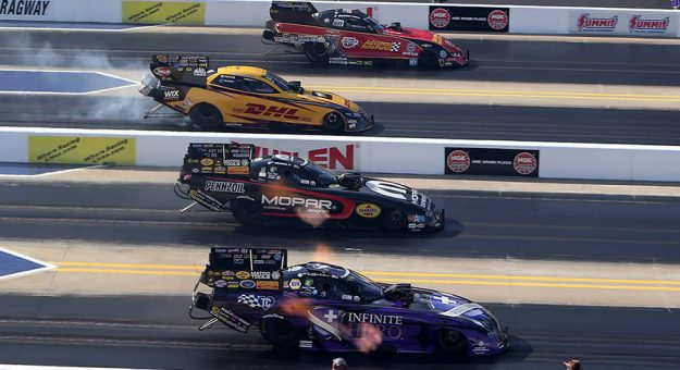 The NHRA returns to zMAX Dragway this week for the first time since 2019. (HHP/Tami Pope Photo)