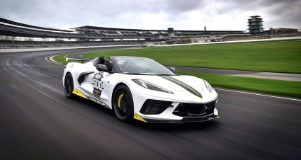 2021 Corvette Stingray Convertible To Pace Indy 500 Field