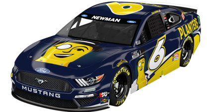Planters Supporting Ryan Newman At Nashville