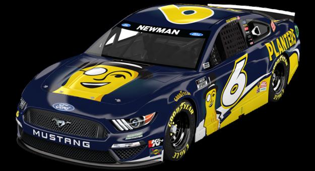 Planters will sponsor Ryan Newman at Nashville Superspeedway.