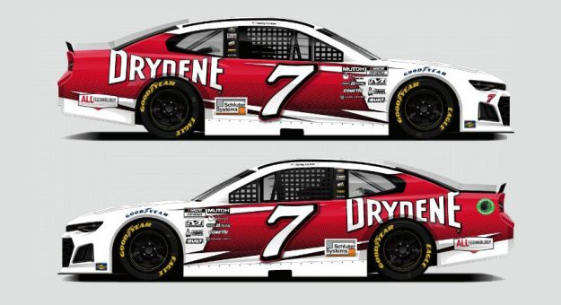 Corey LaJoie will carry sponsorship from Drydene this weekend at Dover Int'l Speedway.