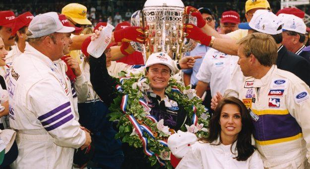 1996 Indy 500 Buddy Lazier Vl Celebration Bob Gates Collection