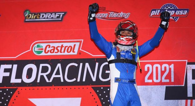 Kyle Larson Brownstown Victory Lane Josh James Artwork Photo