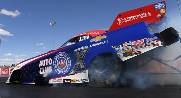 The Lucas Oil NHRA Winternationals at Auto Club Raceway at Pomona have been rescheduled for July 31-Aug. 2. (NHRA Photo)