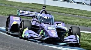 2021 Indycar Indy Gp Romain Grosjean Qualifying Action Al Steinberg Photo