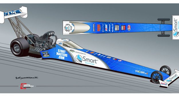 Smart Sanitizer has been named a primary sponsor of Justin Ashley Racing.