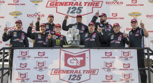 2021 Arca East Dover Ty Gibbs And Crew In Vl Series Photo