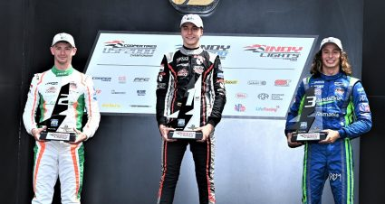 Malukas Wins & Regains Indy Lights Point Lead