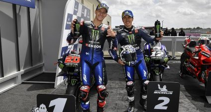 Quartararo Leads Yamaha Sweep Of French G.P. Qualifying