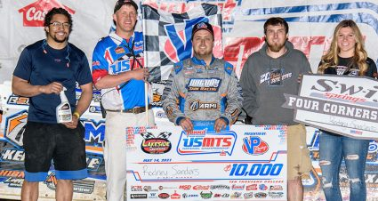 Sanders Breaks Through At Lakeside
